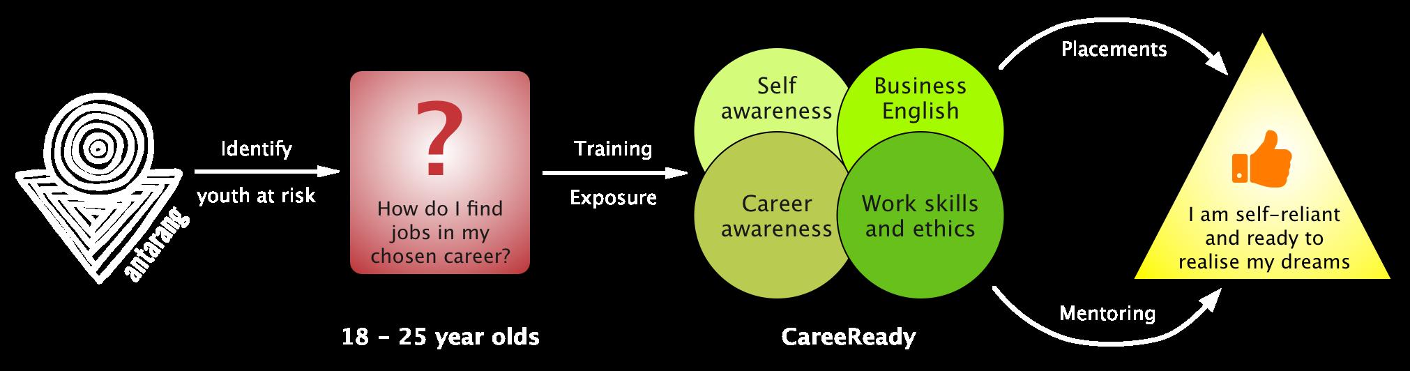 The CareeReady process