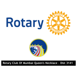 Rotary Club of Mumbai Queen's Necklace logo
