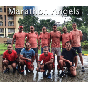Logo for Marathon Angels